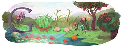 Google Logo: Nowruz 2011 - Persian new year